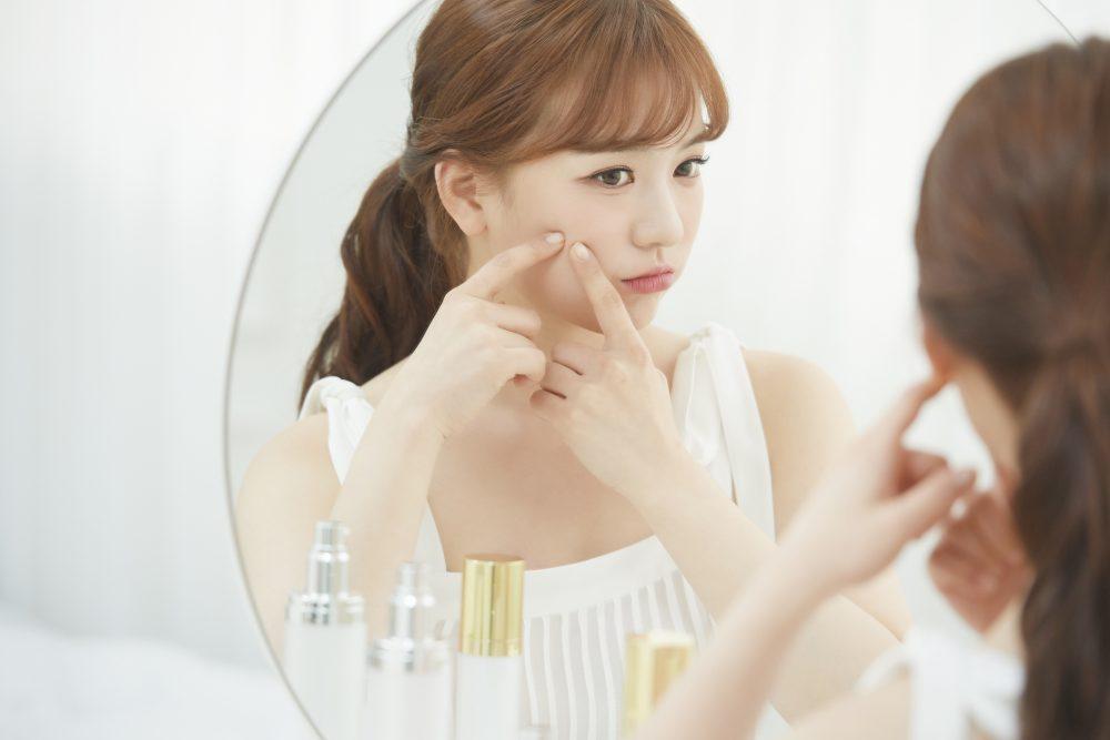 女性の肌トラブル